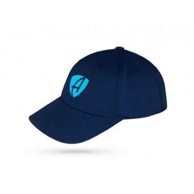 德国直邮 德国AMMERSEE BAVARIA 海军蓝色LOGO印花潮流棒球帽